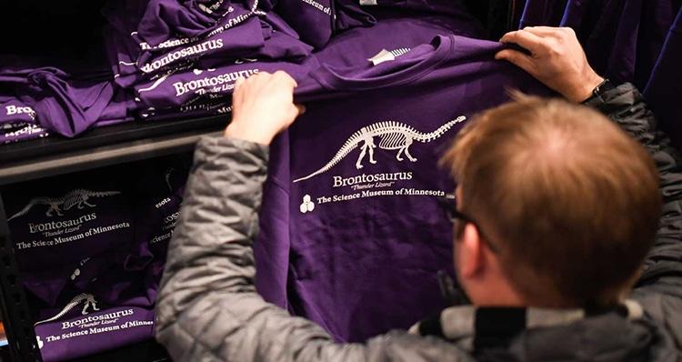 Stranger Things Brontosaurus Hoodie Special Release Science Museum of Minnesota