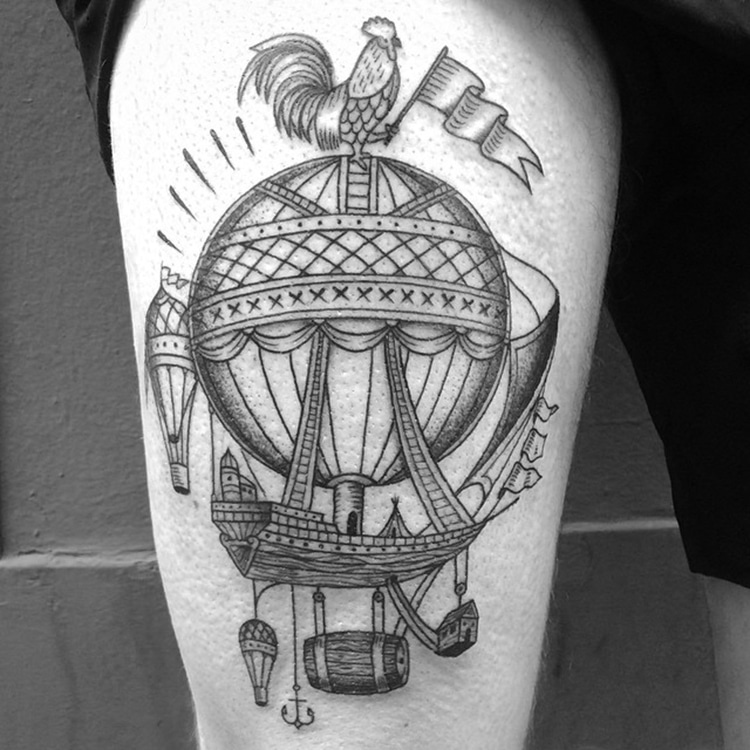 Travel Tattoos by Franck Pellegrino