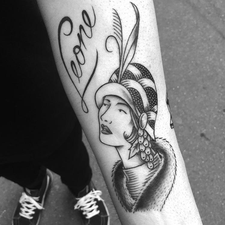 Travel Tattoos by Franck Pellegrino
