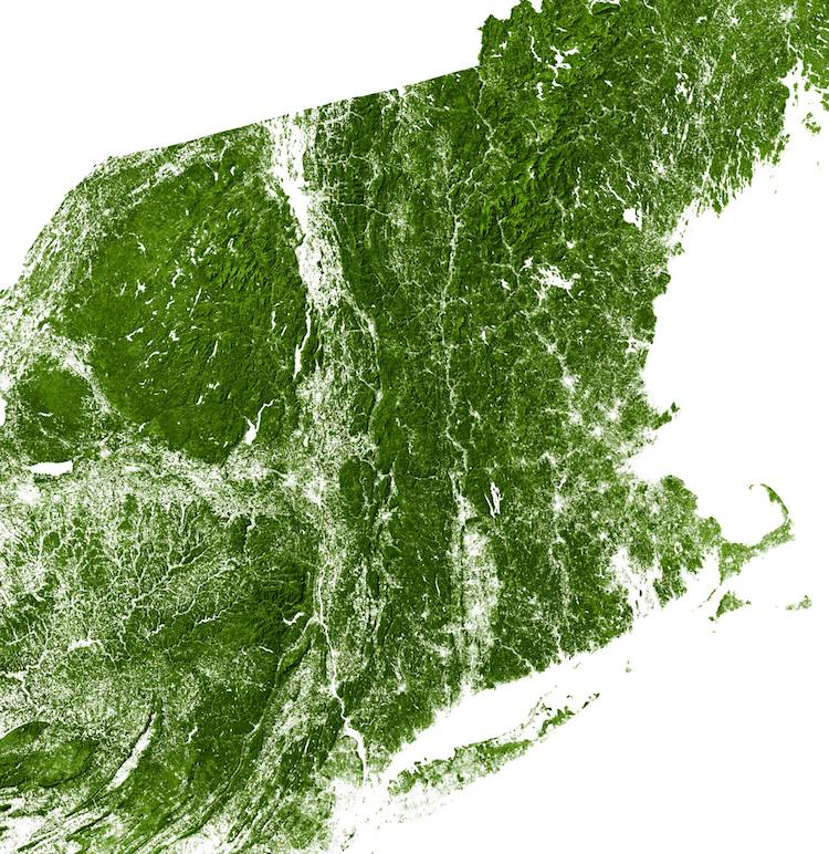 landsat map america