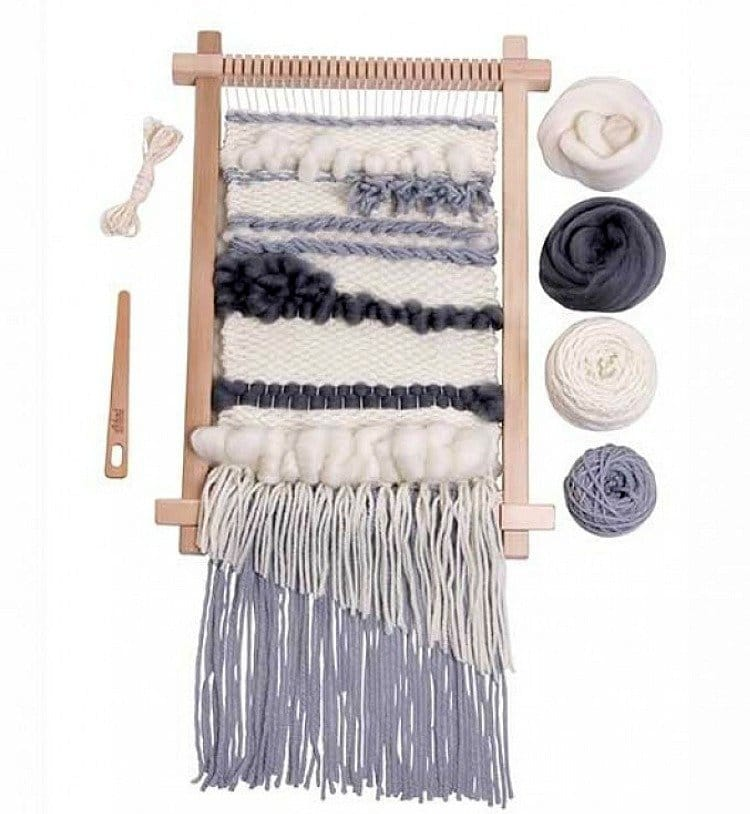 2019 Holiday Gift Guide Weaving Starter Kit for Beginners