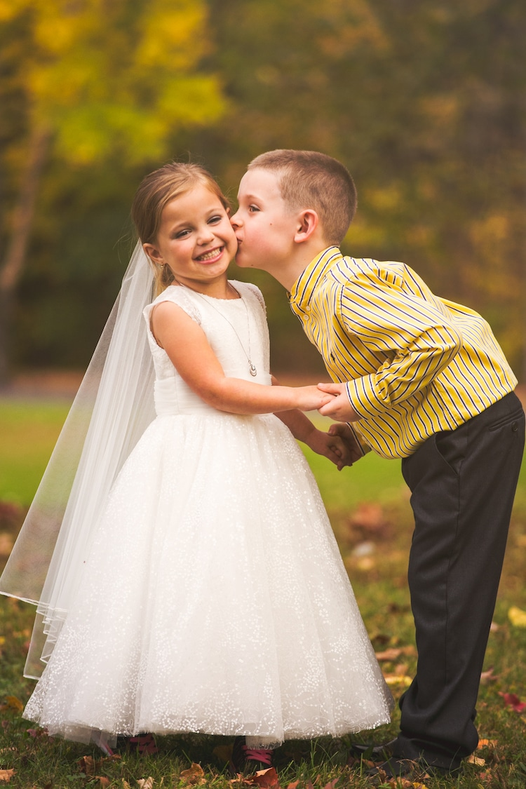 Kids in Love Wedding Shoot