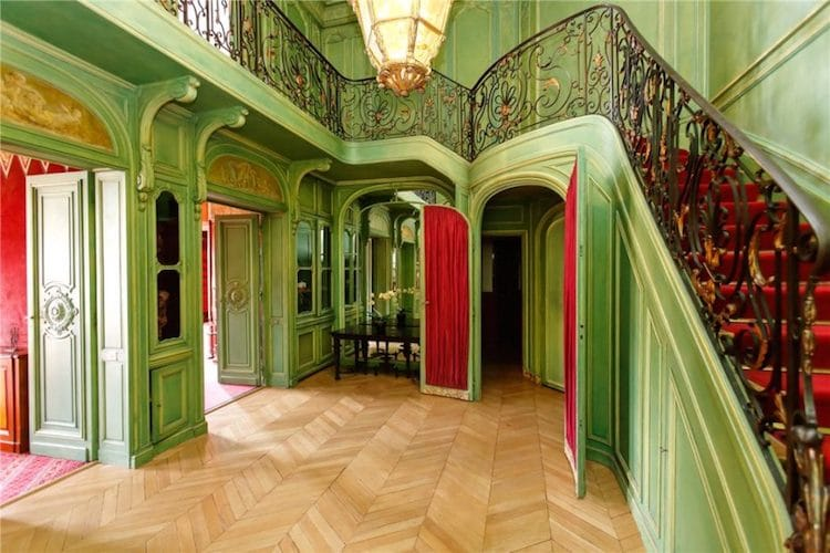Paris Apartment is Wes Anderson in Real Life