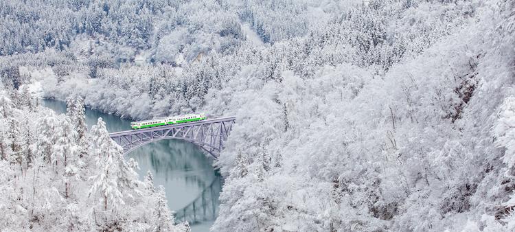 invierno en japon