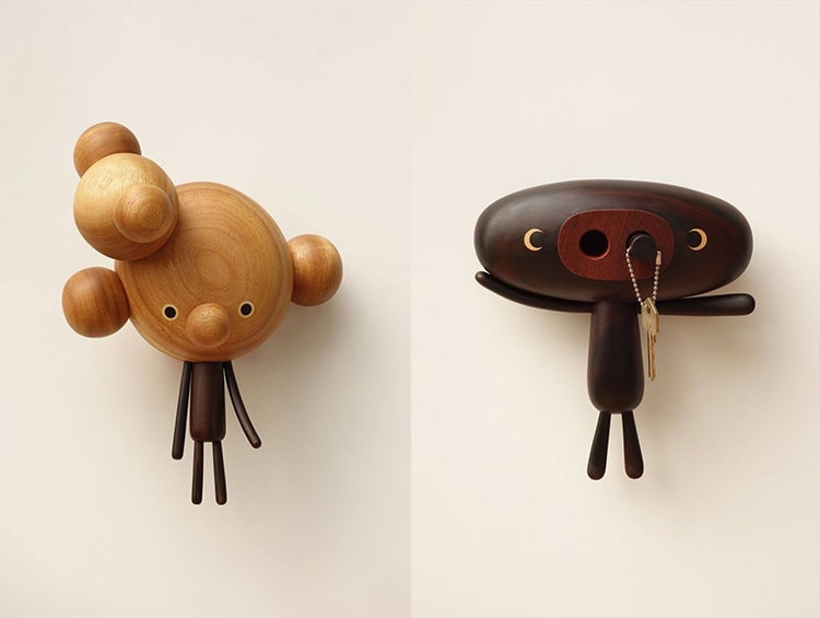 Wooden Character Toys by Yen Jui-Lin