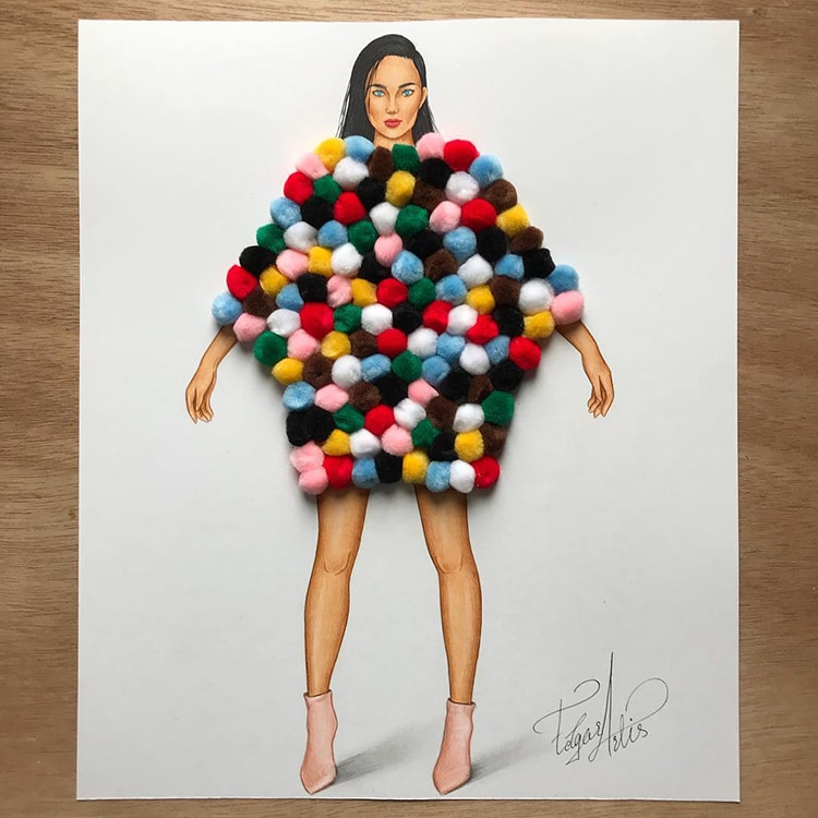 3D Fashion Illustrations by Edgar Artis