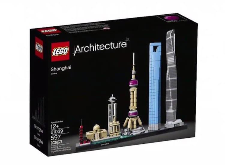 LEGO Shanghai Skyline