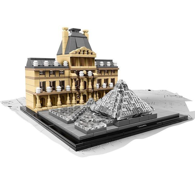 LEGO Louvre Set