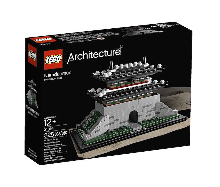 lego architecture sets pieces buildings famous sungnyemun