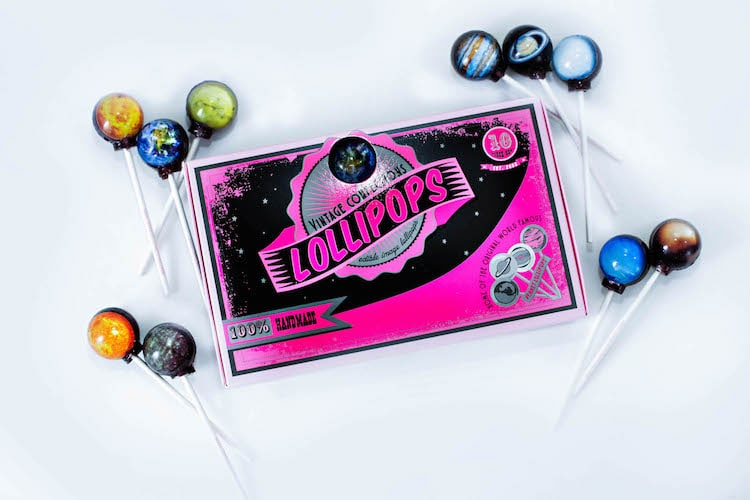 Planet Lollipops, Gourmet Candy by Vintage Confection