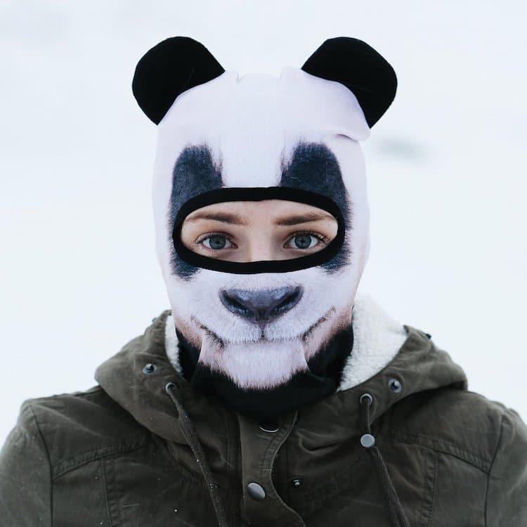 Animal Face Ski Mask