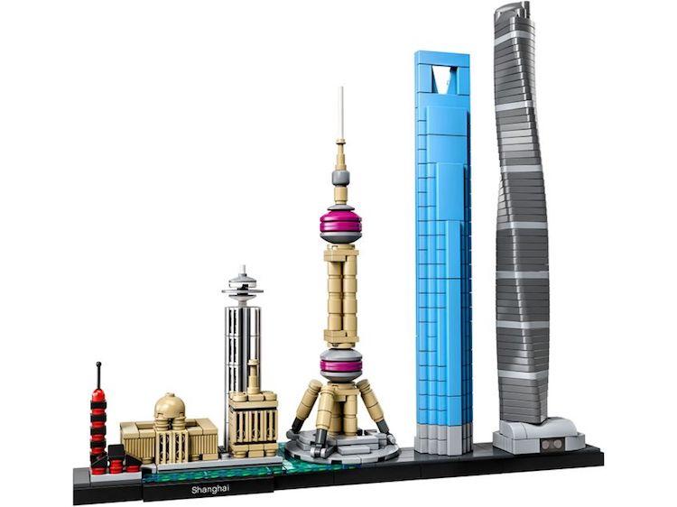 Regalos para Arquitectos set de LEGO de Shanghái