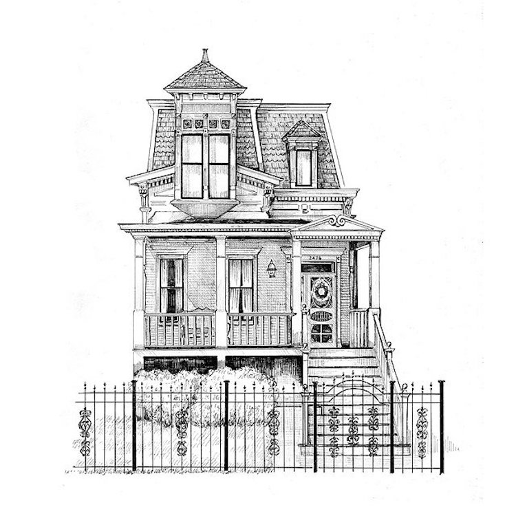 Personalized Architectural Drawing