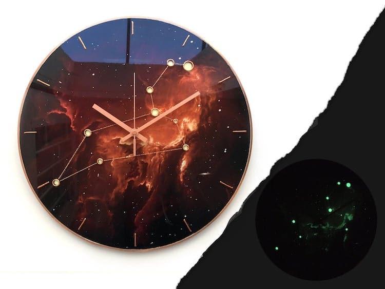 Leo Constellation Clock