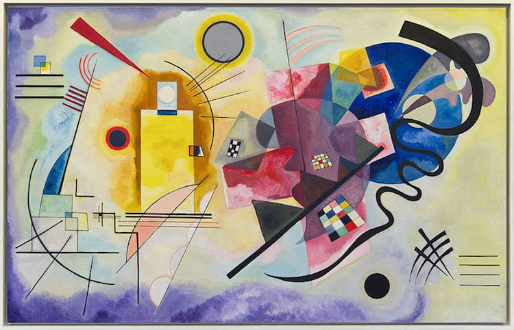 Bauhaus Art Movement Kandinsky Painting