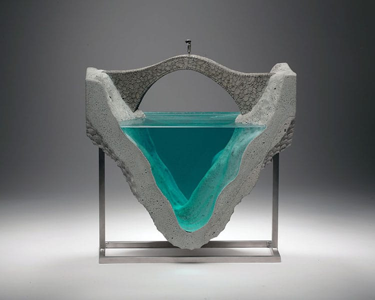 Contemporary Glass Sculptures Ben Young