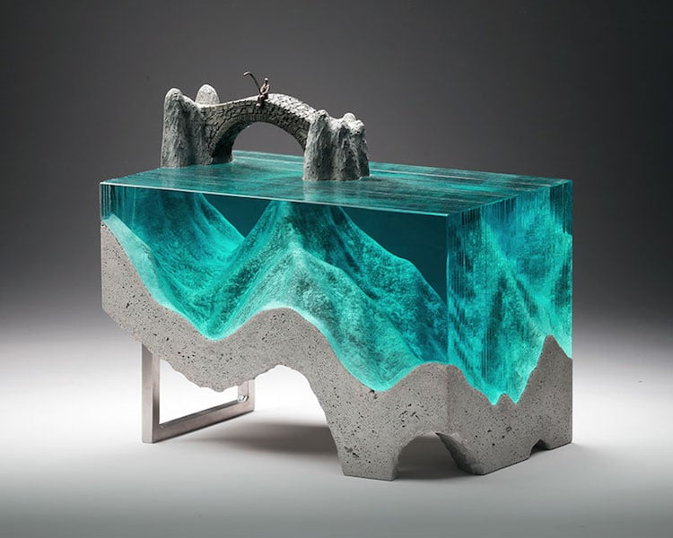 handmade glass sculptures capture the beauty of the ocean
