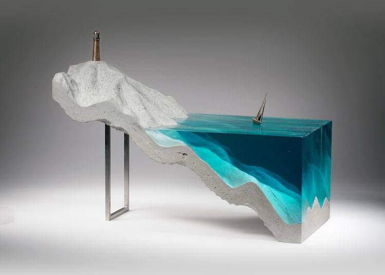 Contemporary Glass Sculptures Ben Young