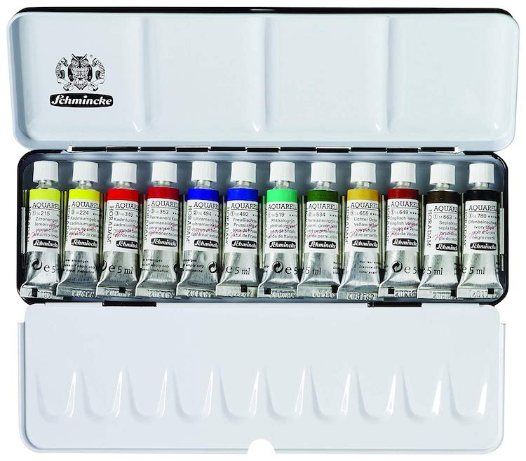 Schmincke Watercolor Set