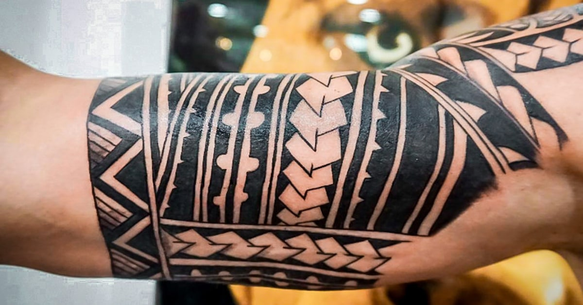 08884ad7b How Polynesian Tribal Tattoos Played a Major Role in the Blackwork Tattoos  You See Today