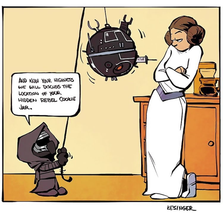 Star Wars and Calvin & Hobbes
