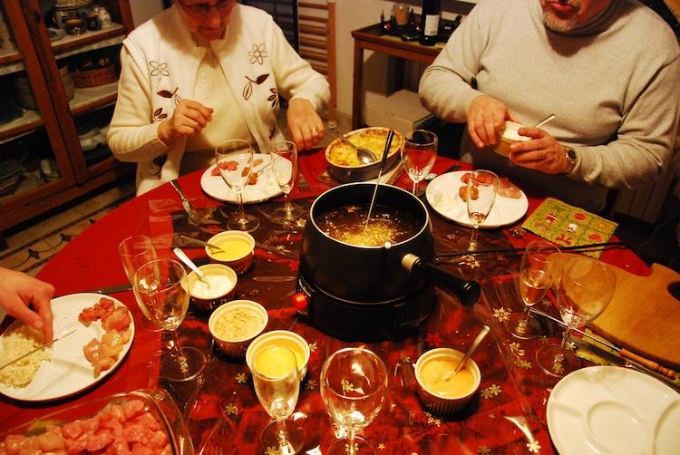 traditional Christmas meal