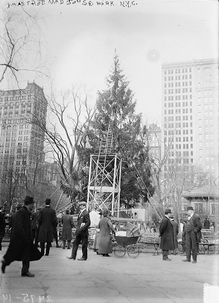 Christmas in New York - 1910s
