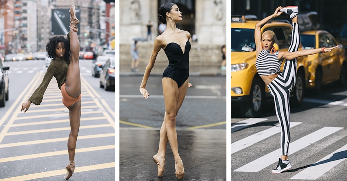Modern Dance Photography Caught On City Streets Around The