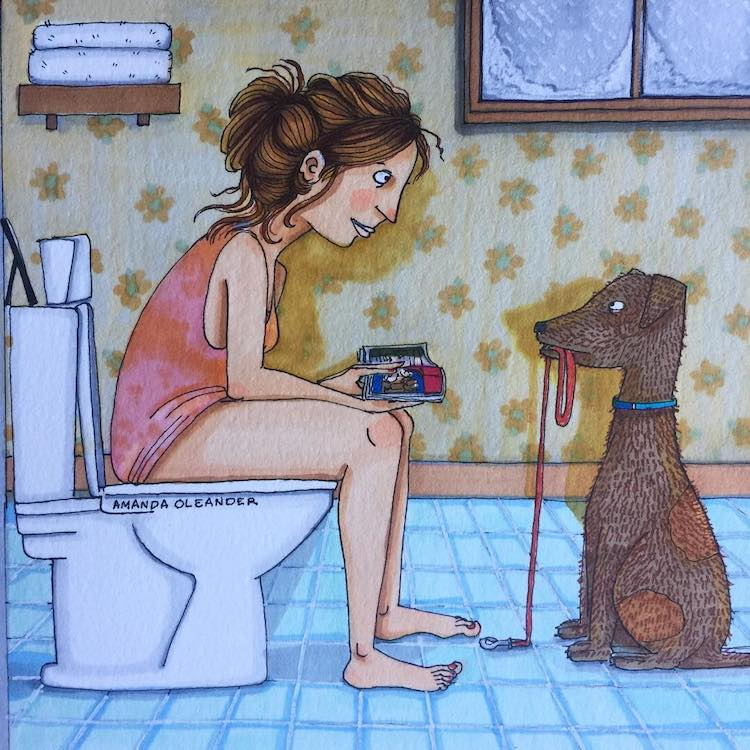 Illustrated Love Stories by Amanda Oleander