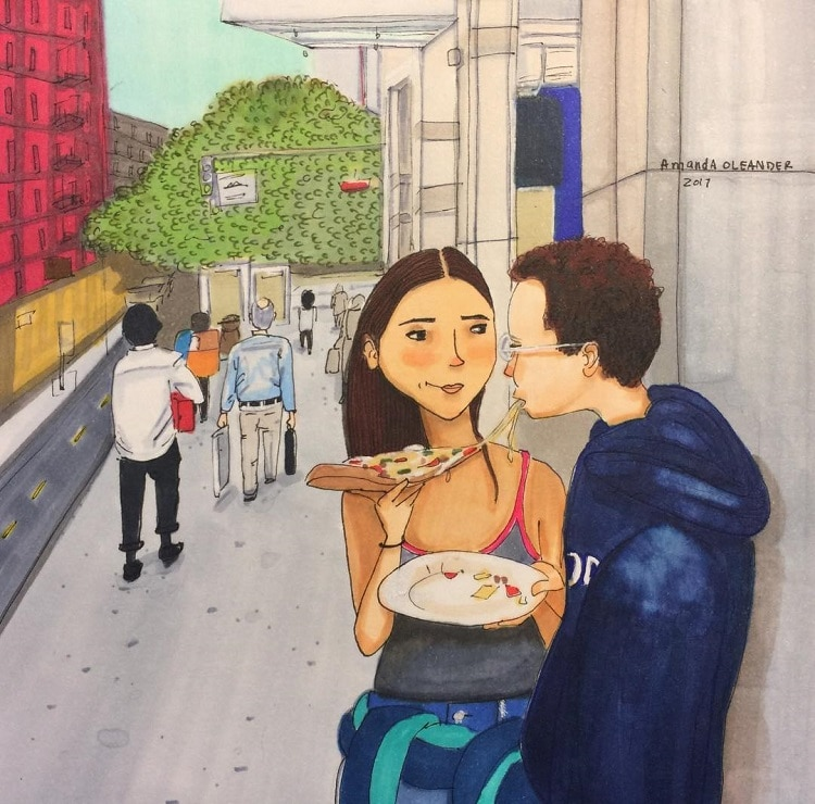 Love Story Illustration