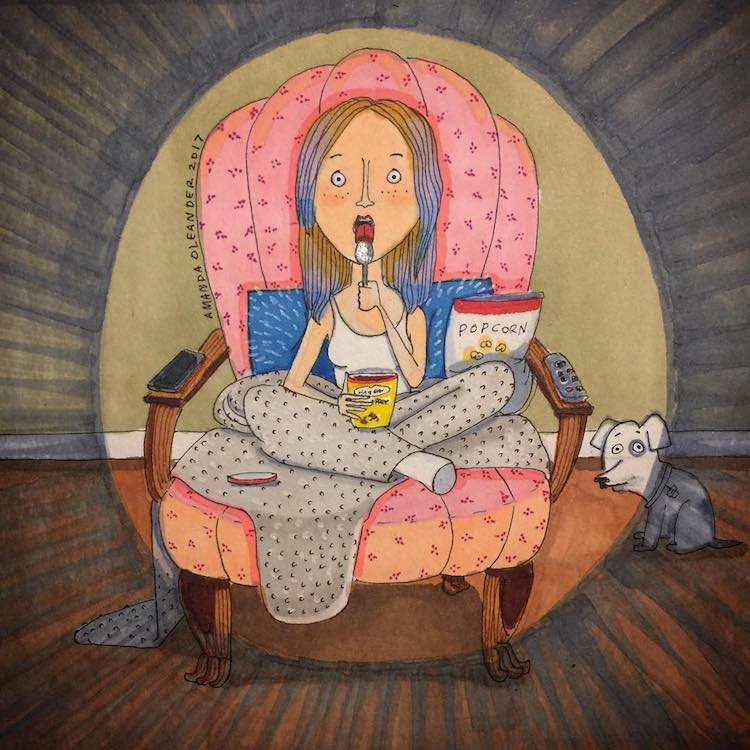 Illustrated Love Stories by Amanda Oleander