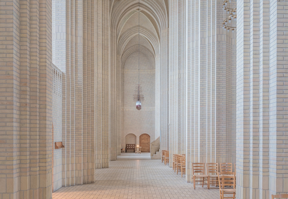 Expressionist Church Architecture Photos by Ludwig Favre
