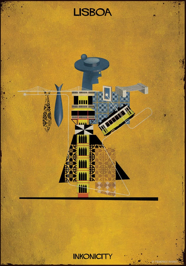 federico babina city illustration