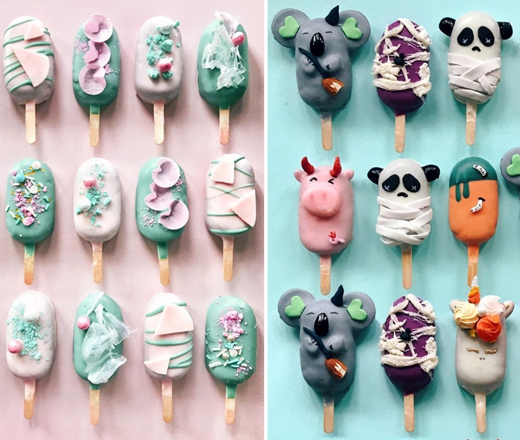 Food Art 2017 Cake Pops Raymond Tan
