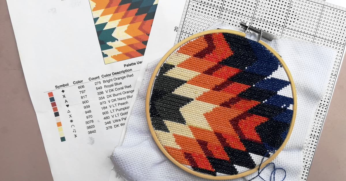 image regarding Needlepoint Patterns Free Printable titled No cost Cross-Sch Practice Producer and No cost Crochet Layouts On the web