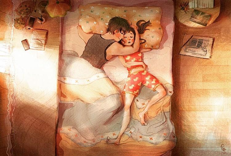 True Love Illustrations by Lynn Choi