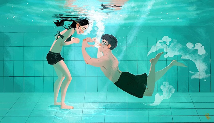 True Love Illustrations by Lynn Choi