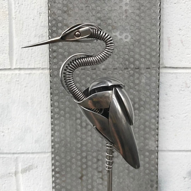 Metal Birds by Matt Wilson Airtight Artwork