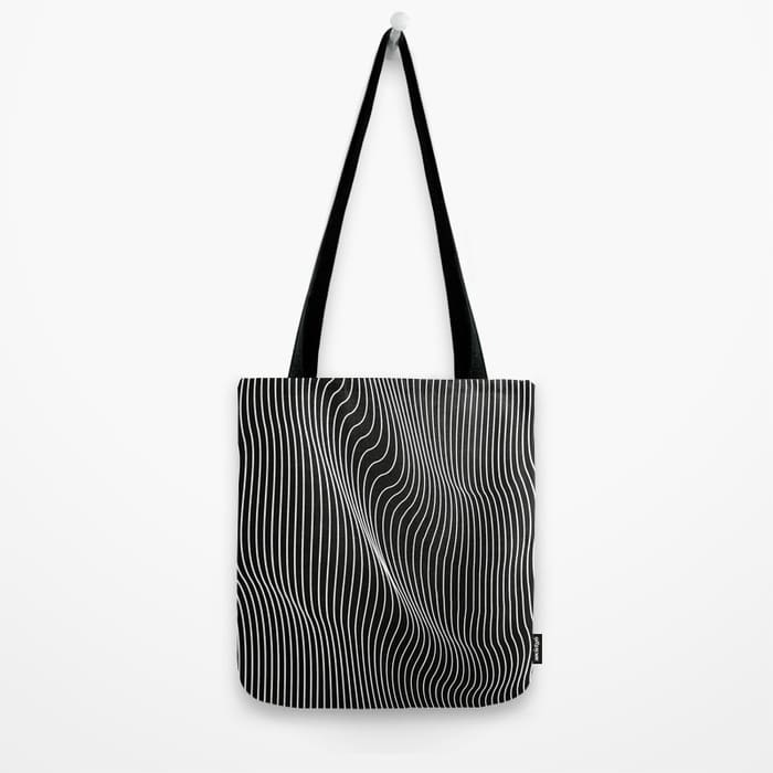 Minimalist Canvas Tote Bag