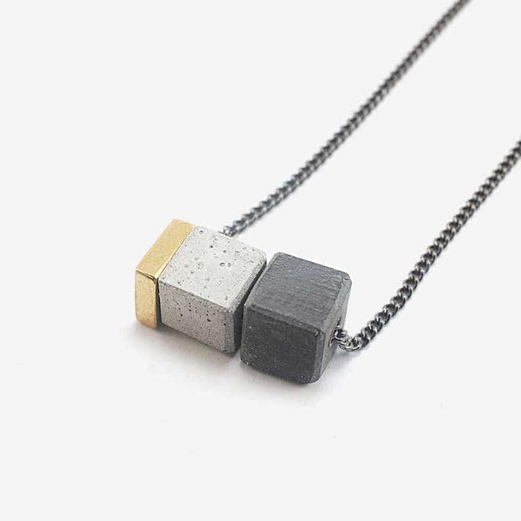 Minimalist Concrete Jewelry