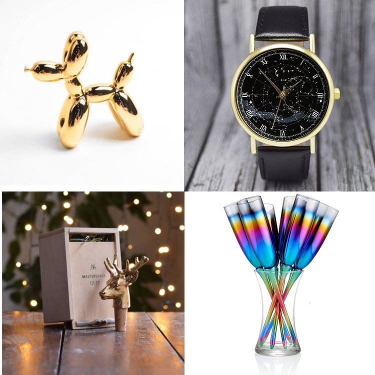 New Year Gift Ideas and New Years Eve Party Ideas