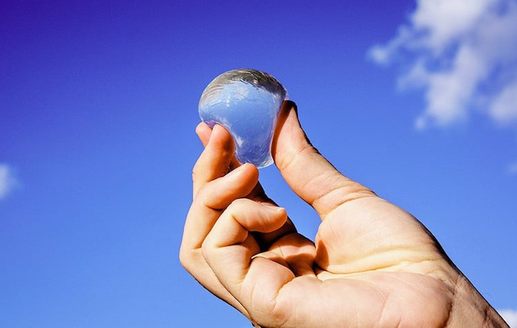 innovative design ooho edible water bubbles