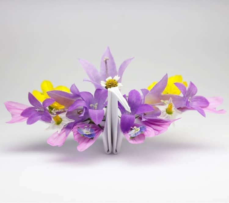 Origami Cranes by Cristian Marianciuc