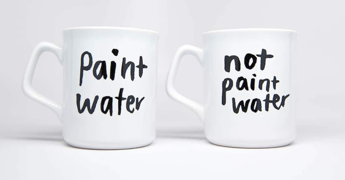 Paint Not Paint Mugs Are Funny Coffee Mugs For Your Favorite Artist