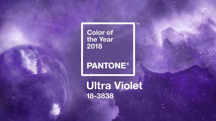 Pantone Picks Ultra Violet as 2018 Color of the Year
