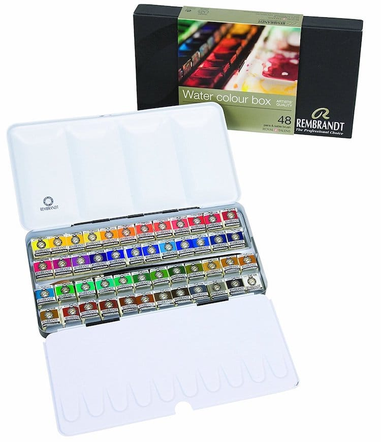best watercolor sets for professionals