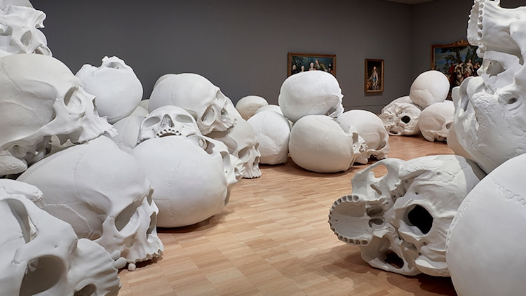 Ron Mueck contemporary art installation