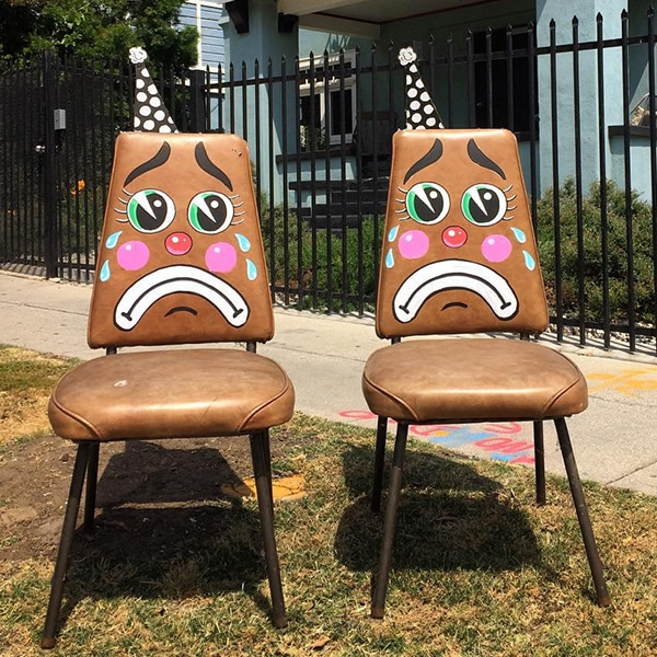 Funny Street Art Installations By Tom Bob Transform Mundane Objects - Street artist turns street furniture into characters