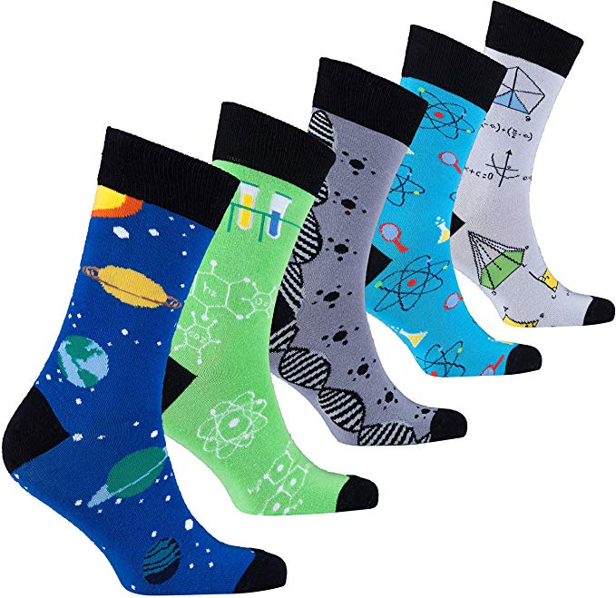 Science Novelty Socks