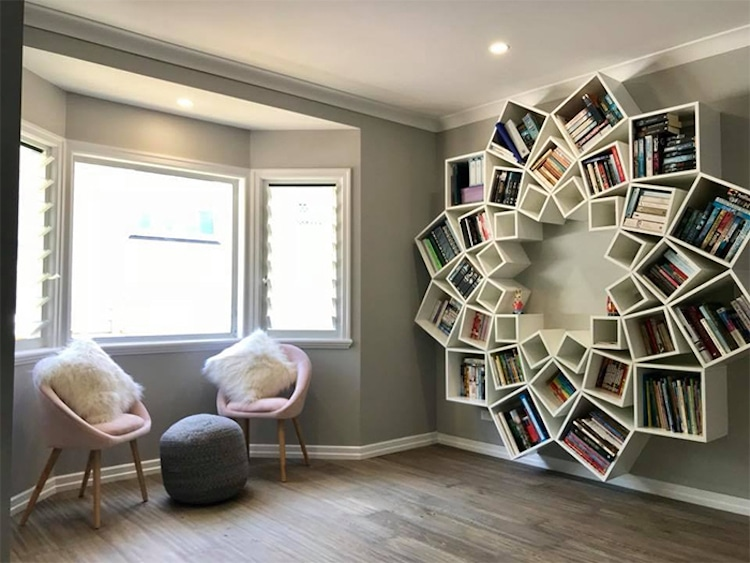 Creative Bookshelf Design Is A Pinterest DIY Done Right